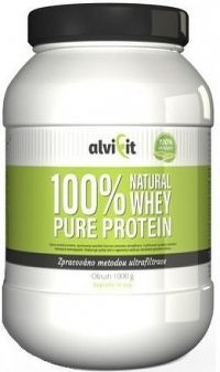 ALVIFIT 100% Natural WHEY Pure Protein 1000g