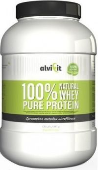 ALVIFIT 100% Natural WHEY Pure Protein 2000g