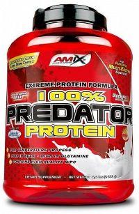 Amix 100% Predator protein jahoda 2000g