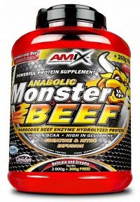 Anabolic Monster BEEF 90% Protein 1000g strawberry-banana