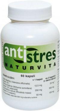 ANTISTRES Naturvita 60 kapslí