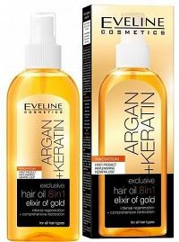 Argan + Keratin - olej na vlasy 8v1