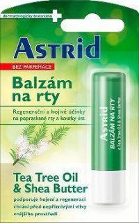 Astrid balzám na rty Tea Tree Oil+Shea Butter 4.8g
