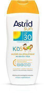 ASTRID SUN Dětské mléko na opalování OF 30 200 ml