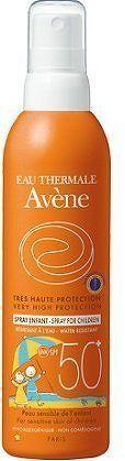 AVENE Spray 50+ enf 200ml-opal. sprej pro děti 50+