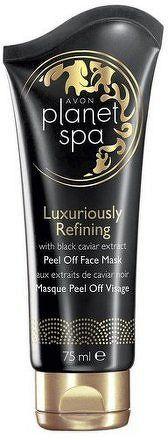 Avon Luxusní obnovující slupovací pleťová maska s výtažky z černého kaviáru Planet Spa 75ml