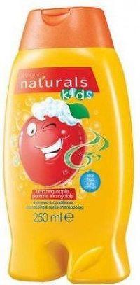 Avon Šampon a kondicionér s jablkem Naturals kids 250ml