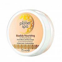 Avon Vyživující krém na ruce, nohy a lokty s bambuckým máslem Planet Spa 75ml