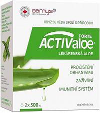 Barnys ACTIV aloe LÉKÁRENSKÁ aloe 2x500ml