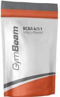 Bcaa 4:1:1 Instant - GymBeam unflavored - 500 g