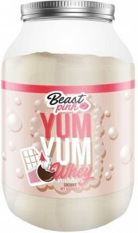 BeastPink Yum Yum Whey 1000 g white chocolate coconut
