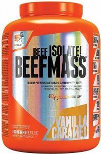 BeefMass 3 kg vanilka karamel
