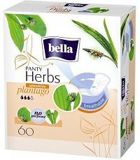 Bella Herbs Plantago Sensitive slipové vložky 60ks