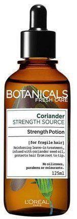 Bezoplachová kúra pro oslabené vlasy Botanicals (Strength Potion) 125 ml