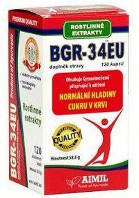 BGR-34 EU doplněk stravy rostl.extrakty cps.120