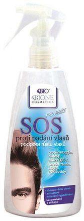 BIO BC SOS proti padání vlasů pro MUŽE 200ml
