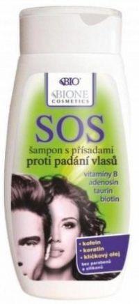 BIO BC SOS šampon proti padání vlasů 200ml