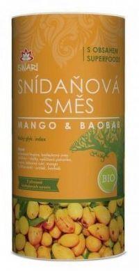 BIO Snídaňová směs mango-baobab 800g