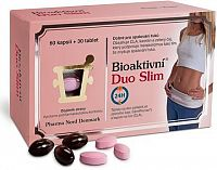 Bioaktivní Duo Slim cps.60+tbl.30