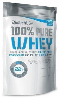 BiotechUSA 100% Pure Whey 1000g Jahoda