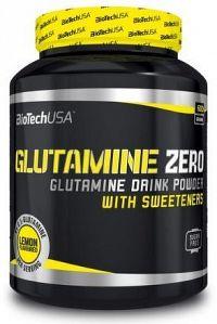 BiotechUSA Glutamine Zero 600g Peach ice tea