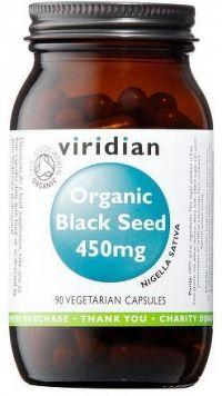 Black Seed 450mg 90 kapslí Organic