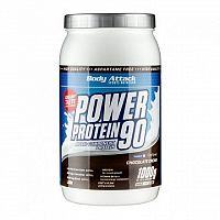 Body Attack, Power Protein 90, 1000 g, Strawberry Cream