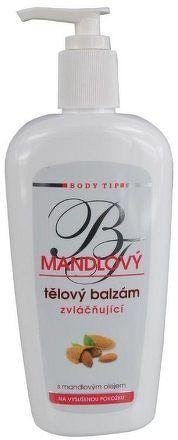 Body Tip Mandlový tělový balzám na vysušenou pokožku 300ml
