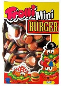 Bonbóny Mini Burger 80ks/800g