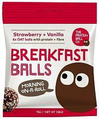 Breakfast Protein Balls 45g strawberry + vanilla