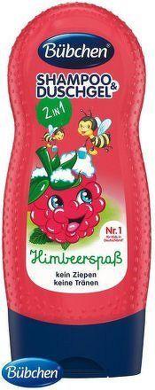 Bübchen šampon a sprch.gel pro děti malina 230ml