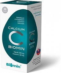 CALCIUM S VIT.C cps.30 Biomin