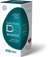 CALCIUM S VIT. D cps.30 Biomin