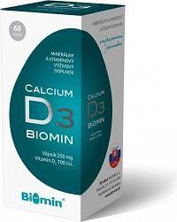 CALCIUM S VIT. D cps.60 Biomin