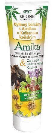 CANNABIS Arnika byl. balz.s kašt.koň.a kost. 300ml
