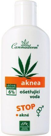 Cannaderm Aknea ošetřující voda 200ml
