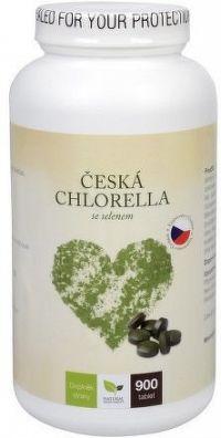 Česká chlorella se selenem tbl.900