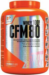 CFM Instant Whey 80 2,27 kg jahoda banán