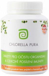Chlorella centrum CHLORELLA PURA 150g doza