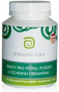 Chlorella centrum SPIRULINA PURA 150g