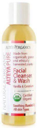 Čistící gel na obličej vanilka a geranium Alteya 150 ml