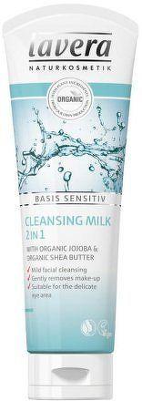 Čistící pleťové mléko 2v1 125 ml Lavera