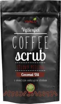 COFFE SCRUB - tělový peeling vyživující Coconut Oil 200g