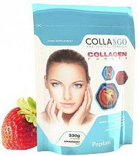 Collango  hovězí  hydrolyzovany kollagen PEPTAN jahoda  300g