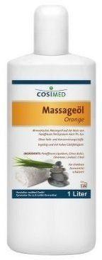 cosiMed masážní olej Pomeranč - 1000 ml