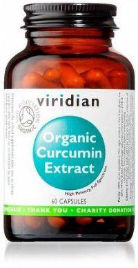 Curcumin Extract 60 kapslí Organic
