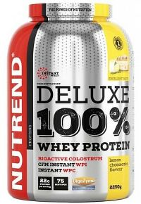 DELUXE 100% WHEY 2250 g citronový cheesecake