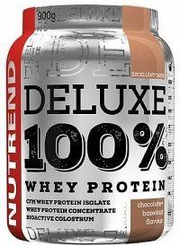 DELUXE 100% WHEY 900 g čokoláda+lískový ořech