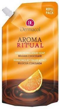 Dermacol AR tek.mýdlo belgic.čokoláda 500ml náplň