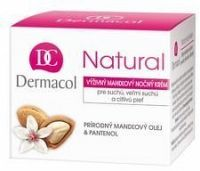 Dermacol Natural Výživný mandlový noční krém 50ml